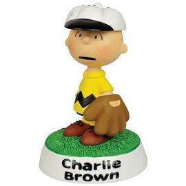 Peanuts - Charlie Brown Baseball Mini-Statue