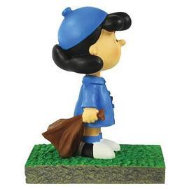 Peanuts - Lucy Bus Stop Mini Statue