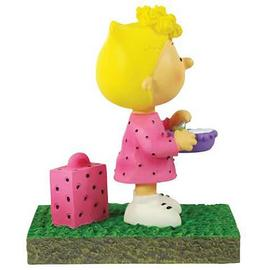 Peanuts - Sally Bus Stop Mini-Statue
