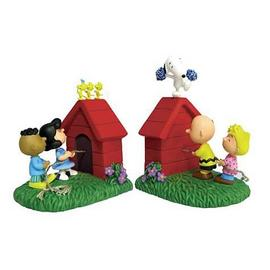 Peanuts - Tug of War Bookends