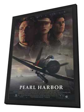 Pearl Harbor - 11 x 17 Movie Poster - Style A - in Deluxe Wood Frame
