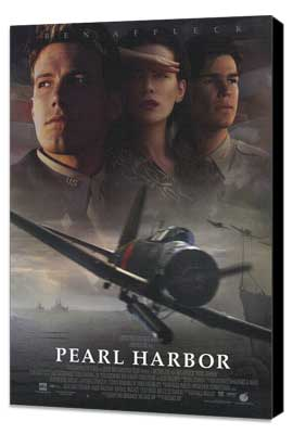 Pearl Harbor - 27 x 40 Movie Poster - Style A - Museum Wrapped Canvas