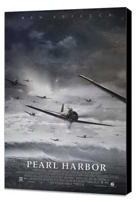 Pearl Harbor - 27 x 40 Movie Poster - Style F - Museum Wrapped Canvas