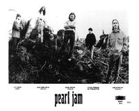 Pearl Jam - 8 x 10 B&W Photo #1