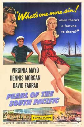 Pearl of the South Pacific - 11 x 17 Movie Poster - Style A