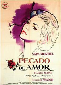 Pecado de Amor - 11 x 17 Movie Poster - Spanish Style A