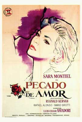 Pecado de Amor - 27 x 40 Movie Poster - Spanish Style A