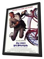Pee wee's Big Adventure - 11 x 17 Movie Poster - Style A - in Deluxe Wood Frame
