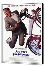 Pee wee's Big Adventure - 11 x 17 Movie Poster - Style A - Museum Wrapped Canvas