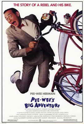 Pee wee's Big Adventure - 27 x 40 Movie Poster - Style A