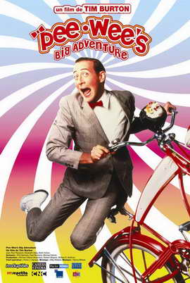 Pee wee's Big Adventure - 27 x 40 Movie Poster - French Style A