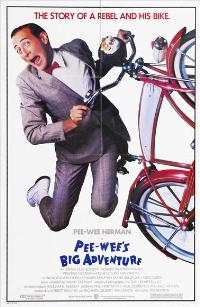 Pee wee's Big Adventure - 43 x 62 Movie Poster - Bus Shelter Style A