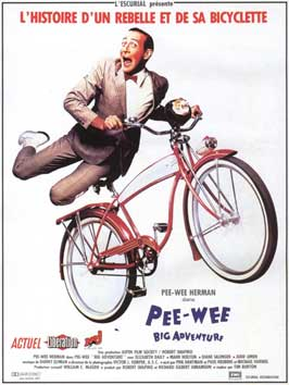 Pee wee's Big Adventure - 11 x 17 Movie Poster - French Style C