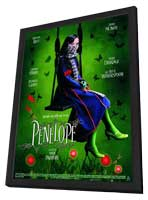 Penelope - 27 x 40 Movie Poster - French Style A - in Deluxe Wood Frame