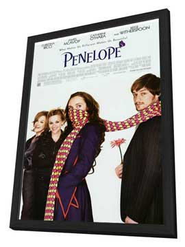 Penelope - 11 x 17 Movie Poster - Style A - in Deluxe Wood Frame