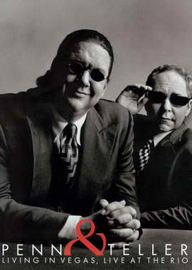 Penn and Teller - 11 x 17 Movie Poster - Style C