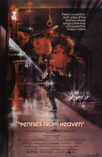 Pennies from Heaven - 43 x 62 Movie Poster - Bus Shelter Style A