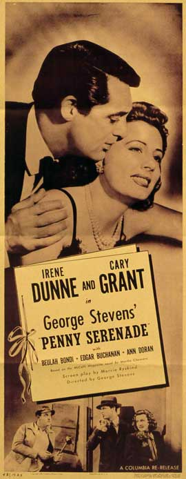 Penny Serenade - 14 x 36 Movie Poster - Insert Style A