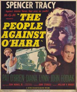 People Against O'Hara - 11 x 17 Movie Poster - Style A