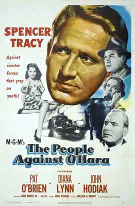 People Against O'Hara - 27 x 40 Movie Poster - Style B