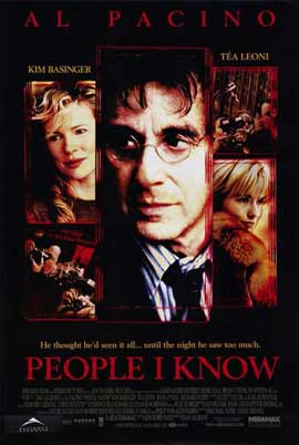 People I Know - 11 x 17 Movie Poster - Style A