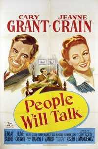 People Will Talk - 11 x 17 Movie Poster - Style A