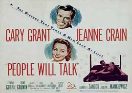 People Will Talk - 11 x 14 Movie Poster - Style B