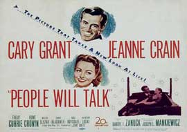 People Will Talk - 11 x 17 Movie Poster - Style B