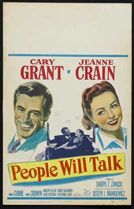 People Will Talk - 11 x 17 Movie Poster - Style C