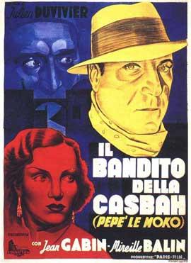 Pepe le Moko - 11 x 17 Movie Poster - Italian Style A