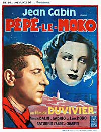 Pepe le Moko - 11 x 17 Movie Poster - Spanish Style A