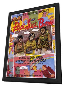 Pepi, Luci, Bom - 11 x 17 Movie Poster - Style A - in Deluxe Wood Frame
