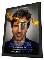 Perception (TV) - 11 x 17 TV Poster - Style A - in Deluxe Wood Frame