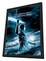Percy Jackson & the Olympians: The Lightning Thief - 27 x 40 Movie Poster - Style B - in Deluxe Wood Frame