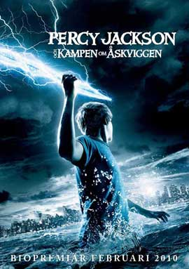 Percy Jackson & the Olympians: The Lightning Thief - 27 x 40 Movie Poster - Swedish Style A