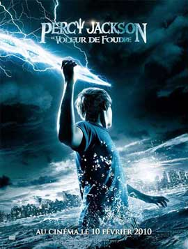 Percy Jackson & the Olympians: The Lightning Thief - 27 x 40 Movie Poster - French Style A