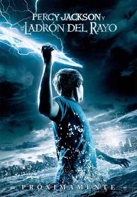 Percy Jackson & the Olympians: The Lightning Thief - 27 x 40 Movie Poster - Spanish Style A