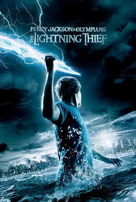 Percy Jackson & the Olympians: The Lightning Thief - 27 x 40 Movie Poster - Style B