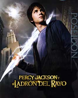 Percy Jackson & the Olympians: The Lightning Thief - 27 x 40 Movie Poster - Spanish Style D