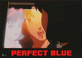 Perfect Blue - 11 x 14 Poster French Style B