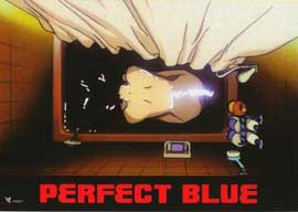 Perfect Blue - 11 x 14 Poster French Style C