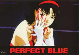 Perfect Blue - 11 x 14 Poster French Style G