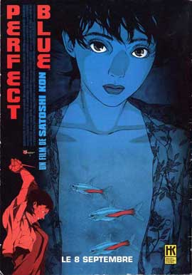 Perfect Blue - 11 x 17 Movie Poster - French Style A