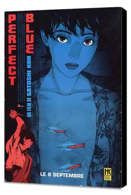 Perfect Blue - 27 x 40 Movie Poster - French Style A - Museum Wrapped Canvas