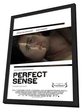 Perfect Sense - 27 x 40 Movie Poster - Style A - in Deluxe Wood Frame