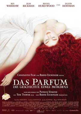 Perfume - 11 x 17 Movie Poster - German Style A
