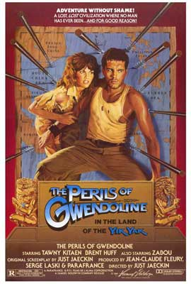 Perils of Gwendoline in the Land of Yik Yak - 27 x 40 Movie Poster - Style A