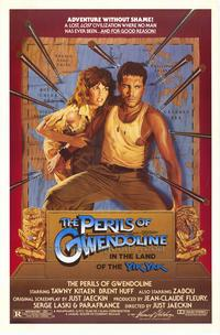 Perils of Gwendoline in the Land of Yik Yak - 43 x 62 Movie Poster - Bus Shelter Style A