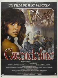 Perils of Gwendoline in the Land of Yik Yak - 43 x 62 Movie Poster - French Style A