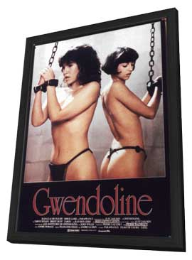 Perils of Gwendoline in the Land of Yik Yak - 11 x 17 Movie Poster - Style C - in Deluxe Wood Frame